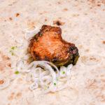 Свинина корейка на мангале